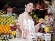 Á hậu Thanh Tú buông lơi váy áo du xuân Sài thành
