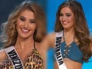 '  ' Rửa mắt '  '  với màn trình diễn áo tắm của top 13 Miss Universe