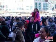 Thế giới - Dân TQ lũ lượt đổ về thành phố sau kì nghỉ Tết