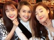 Ca nhạc - MTV - 3 chị em Nhã Phương đã đẹp ngất ngây, 3 chị em Hari còn gây choáng hơn