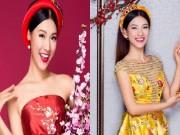 Á hậu Hoàng Oanh khoe vai trần với loạt váy đầm sặc sỡ