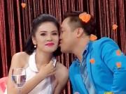 Giải trí - Lý Hùng hôn Việt Trinh ngay trên sóng truyền hình