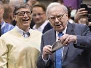 """Tài chính - Bất động sản - Bill Gates – Warren Buffett và bài học """"giàu vì bạn"""""""