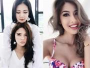 Thời trang - 4 cô em gái đẹp như tiên của các hoa hậu Việt