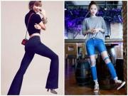 Thời trang - Cuộc cách tân đáng nể của jean ống loe và jean rách rưới