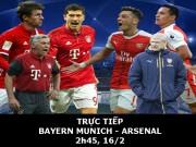 Bóng đá - Chi tiết Bayern Munich - Arsenal: Muller giải hạn (KT)