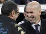 Real hạ Napoli: Zidane hứng khởi, học trò cẩn trọng