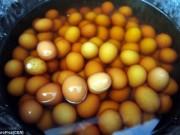 Ẩm thực - Trứng luộc nước tiểu – đặc sản kinh dị của Trung Quốc