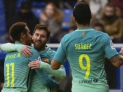 """Bóng đá Tây Ban Nha - """"Tam tấu"""" hay nhất châu Âu: Bộ ba Barca hết thời"""