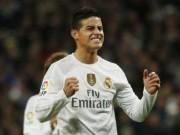 Bóng đá - Tin HOT bóng đá tối 16/2: James chốt tương lai ở Real