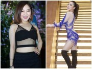 Thời trang - Hương Tràm khoe đường cong hấp dẫn với váy tua rua cô-ban