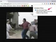 Tăng tốc Google Chrome bằng cách chặn ảnh động (GIF)
