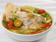 Ẩm thực - Thanh mát, lạ miệng trái tắc nấu canh chua cá