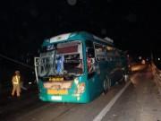 Hiện trường vụ nổ xe khách kinh hoàng ở Bắc Ninh