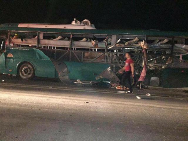 """Từ vụ nổ xe khách ở Bắc Ninh: """"Đen thì chịu thôi"""""""
