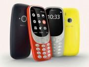Ra mắt Nokia 3310 giá rẻ, sự trở lại của  huyền thoại