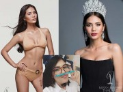 """Choáng vì dung nhan thời  """" vịt bầu """"  của Hoa hậu Thái"""