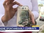 NÓNG: Samsung Galaxy S7 tiếp tục phát nổ