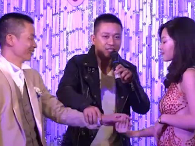 Tuấn Hưng hát ở đám cưới khiến cô dâu xúc động