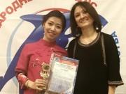 Ca nhạc - MTV - Quán quân Sao Mai giành giải nhất cuộc thi thanh nhạc tại Nga