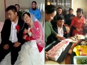 Bạn trẻ - Cuộc sống - Clip trai trẻ lộ rõ bản chất trong đám cưới với người vợ lớn tuổi