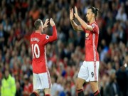 MU: Ibra bị treo giò 3 trận, Rooney  đục nước béo cò