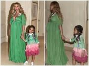 """"""" Phát hờn """"  chiếc váy thiếu nhi 600 triệu của ái nữ Beyonce"""