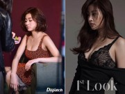 Bạn gái Huyn Bin lộ ảnh hậu trường thời trang bốc lửa