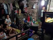 Tin tức trong ngày - Gia đình 17 người nghèo xơ xác bên dòng kênh đen