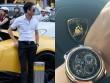 Cường đô la khoe siêu xe 20 tỷ, đồng hồ 13 tỷ