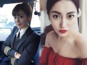 Bạn trẻ - Cuộc sống - Đây là nữ phi công xinh đẹp, chân dài nhất Trung Quốc