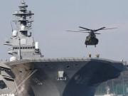 Nhật Bản điều chiến hạm lớn nhất tới Biển Đông