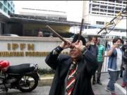 Pháp sư MH370  lập đàn ở nơi đặt thi thể vụ Kim jong-nam