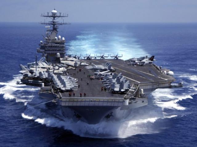 Uy lực siêu tàu sân bay Mỹ sắp đến Việt Nam - 4