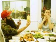 """ĐD  """" Kong """"  ăn tối với Hà Hồ sau khi lộ ảnh hẹn hò Vân Ngô"""