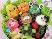 Ẩm thực - Những món ăn Nhật Bản đẹp mê ly, chẳng ai nỡ động đũa