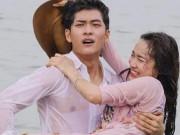 """Nhã Phương và trai Hàn diễn thế này, Trường Giang có  """" nóng mặt """" ?"""