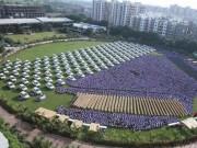 Thế giới - Triệu phú Ấn Độ tặng xe hơi, căn hộ cho 1.200 nhân viên