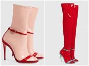 """Dân tình lại  """" rần rần """"  với sandal tất nhựa giá 32 triệu"""