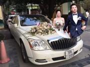 MC Thành Trung mang hẳn siêu xe hơn 20 tỉ đi đón dâu