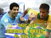 Chi tiết Uruguay - Brazil: Paulinho thăng hoa (KT)
