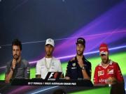 Thể thao - F1, Australian GP: Mercedes - Hamilton hay Ferrari - Vettel