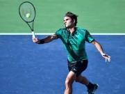 """"""" Ông chủ """"  Federer điều bóng, đối thủ khóc thét"""