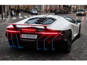 """Bắt gặp Lamborghini Centenario mang biển  """" lục quý 6 """"  siêu độc"""