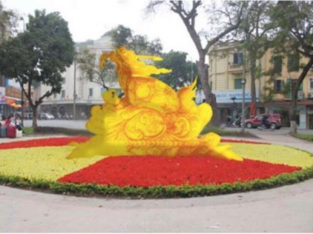 Sau tượng rùa vàng Hồ Gươm, tác giả đề xuất dựng tượng rùa xốp