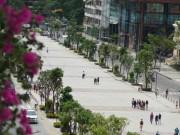 """Tin tức trong ngày - Sở Xây dựng lên tiếng việc """"khu trung tâm thành phố đi bộ"""""""