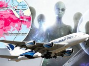 MH370 bị đĩa bay của người ngoài hành tinh bắt cóc?