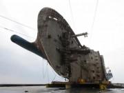 HQ: Phà chìm Sewol được nhấc lên không, chuẩn bị về cảng