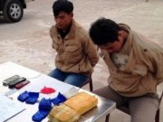 Video An ninh - Bắt 2 người Lào vân chuyển 10 nghìn viên ma túy vào VN