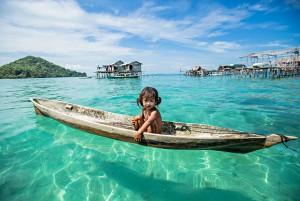 """Du lịch - Cuộc sống """"thiên đường"""" của bộ tộc ẩn mình giữa biển khơi"""